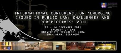 UiTM's International Conference on International Law 2011