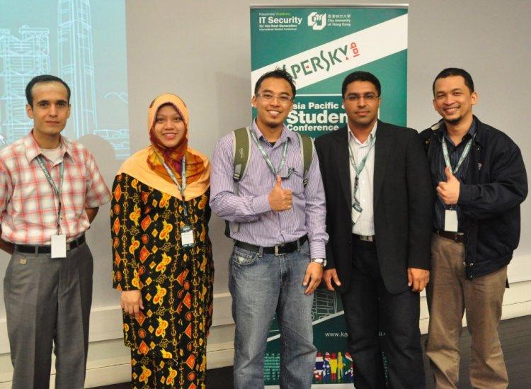 The Malaysian team